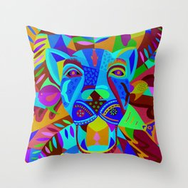 Caballero Jaguar Throw Pillow