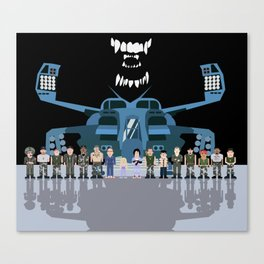 USS Sulaco Crew  Canvas Print