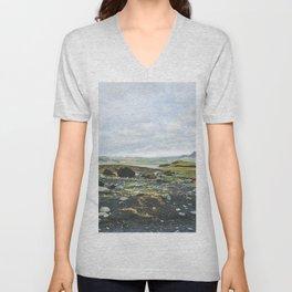 Volcanic Landscape Unisex V-Neck