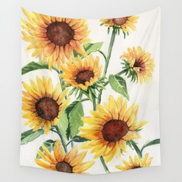 Sunflowers Wall Tapestry