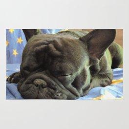 Rocco durmiendo Rug
