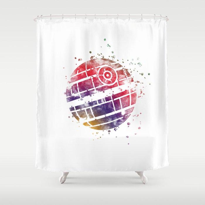 Star Wars Death Shower Curtain