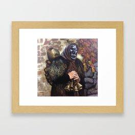Ammentos (Mamuthone from Mamoiada) Framed Art Print