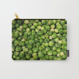 Green Brussels sprout vegetable pattern Carry-All Pouch