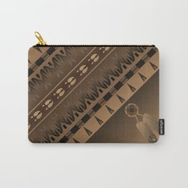 Elk Spirit (Brown) Carry-All Pouch