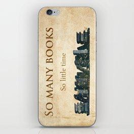 So many books... iPhone Skin