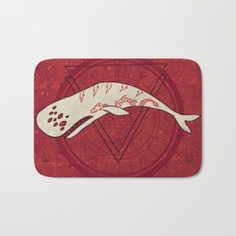 The Devil Roams These Waters Bath Mat