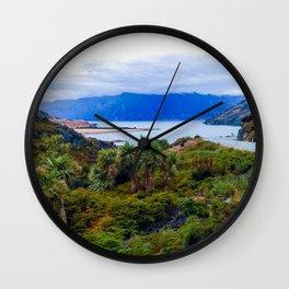 lake hawea new zealand road to lake Wall Clock