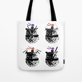 Heroes in a Half Shell Tote Bag