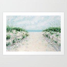 Sandbridge Dunes Art Print