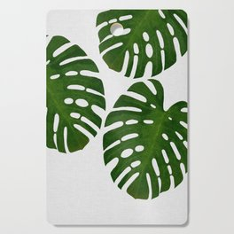 Monstera Leaf III Cutting Board