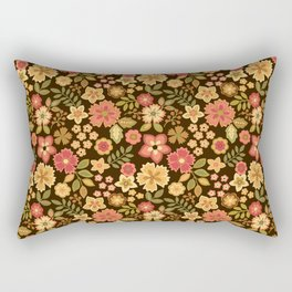Mini Flowers Rectangular Pillow