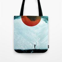 arya stark Tote Bags featuring Found in isolation by Stoian Hitrov - Sto
