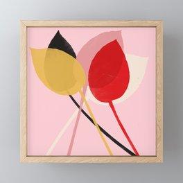 hosta 1 Framed Mini Art Print