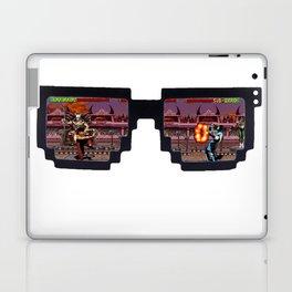 Retro Glasses - KOMBAT edition Laptop & iPad Skin