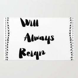 Kindness will always reign supreme! Rug