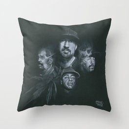 Stoned Raiders Throw Pillow