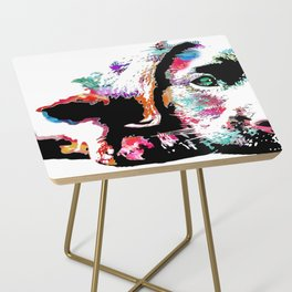 riley the lab pup Side Table