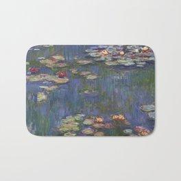 Water Lilies (Nymphéas), c.1916 Art, Monet Bath Mat