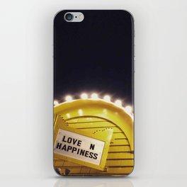Love n happiness iPhone Skin