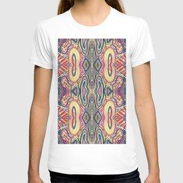 Desert Sun Pattern T-shirt