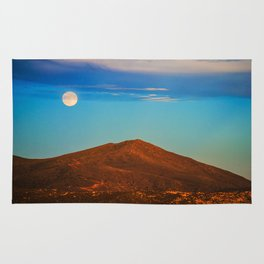 The Moonlit Red Hill Rug