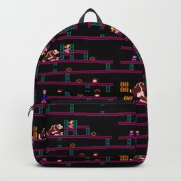 Donkey Kong Retro Arcade Gaming Design Backpack