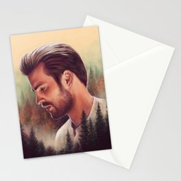 Mountain Lodge Stationery Cards