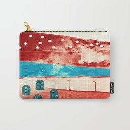 Red landscape Carry-All Pouch