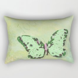 Green Botanica Rectangular Pillow