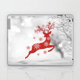 Vintage deers. Merry Christmas! Laptop & iPad Skin
