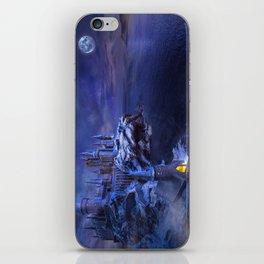 midnight castle iPhone Skin