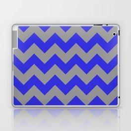 Chevron Navy Laptop & iPad Skin