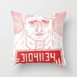 The Poor Throw Pillow