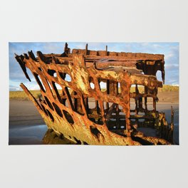 The Wreck of the Peter Iredale Rug