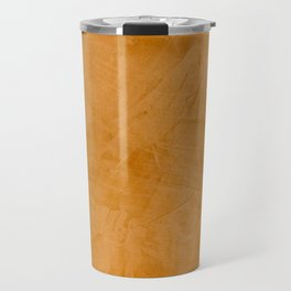 Dante Orange Stucco - Luxury - Rustic - Faux Finishes - Venetian Plaster Travel Mug