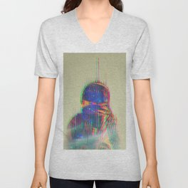 The Space Beyond - Astronaut Unisex V-Neck