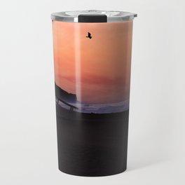 Peach Skies Travel Mug