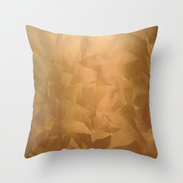 Copper Home Decor and Copper Art Throw Pillow