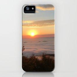 Dan's Rock Sunrise iPhone Case