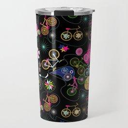 Cycledelic black Travel Mug