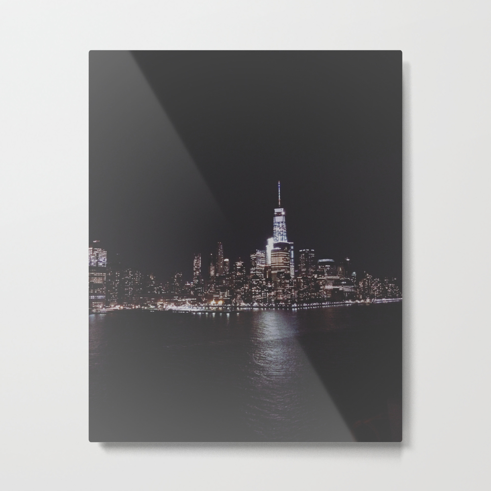 Welcome To New York Metal Print by Phantasiafawn MTP8868879