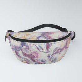 Purple parchment Fanny Pack