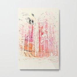 Redwood Forest Metal Print