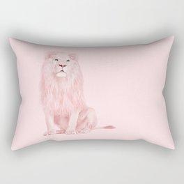 PINK LION Rectangular Pillow