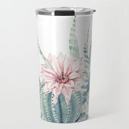 Petite Cactus Echeveria Travel Mug