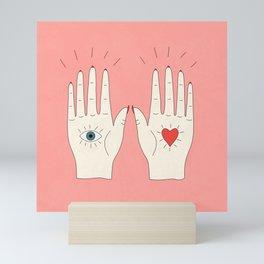 Raising Hands Mini Art Print