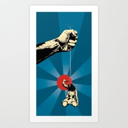 Hanging Of The Followers Art Print