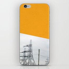 Orange Pylons iPhone Skin