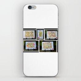 Sweet Life 4 iPhone Skin
